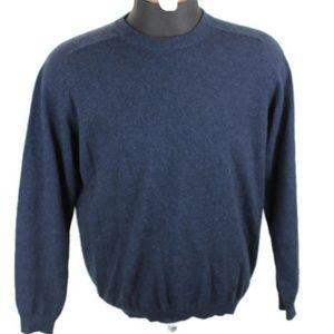 Vtg Daniel Bishop  2-ply Cashmere Pullover Sweater